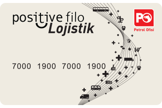 Positive Filo Lojistik Card